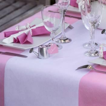 Tischläufer Einfarbig Vliesstoff