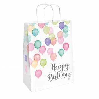 2 Birthday Pastel Geschenkbeutel