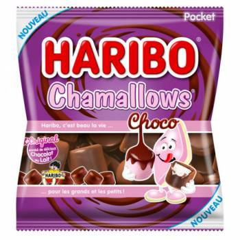Chamallow Choco Haribo 75gr
