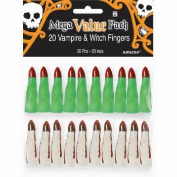 20 Finger von Vampir und Hexe