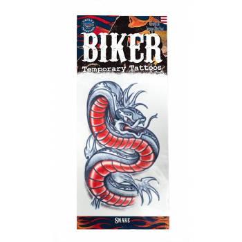 Tattoos Biker Schlange