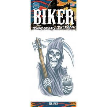 Tattoos Biker Mähmaschine