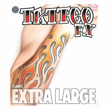 Riesige Tattoo XL Flamme