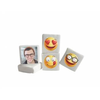 48 Guimize Quadrate personnalisiert Foto Smile