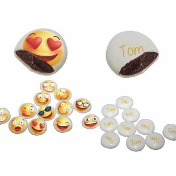 Palets Schock' individuelle Dekoration Smiley & Emoji