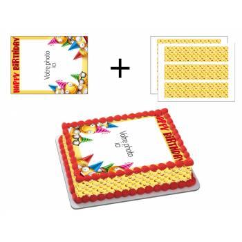 Easycake Smile Kit zum Anpassen von A4
