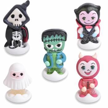 5 Halloween-Monster mit Zucker