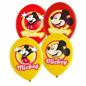 6 Original micky Ballons
