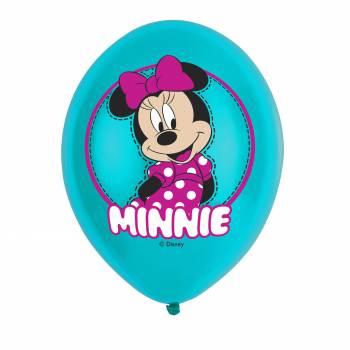 6 Luftballon Minnie Mousse