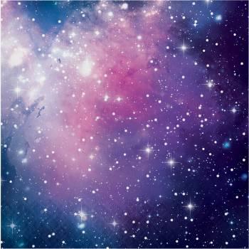 16 Galaxy Servietten