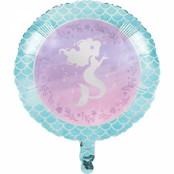 Luftballon Hellium Meerjungfrau shine