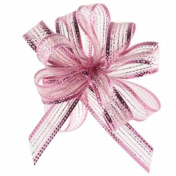 Spulen automatische Bänder irisiert rosa
