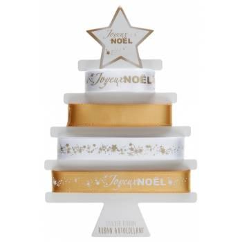 Sortiment Bänder Aufkleber Weihnachten Gold