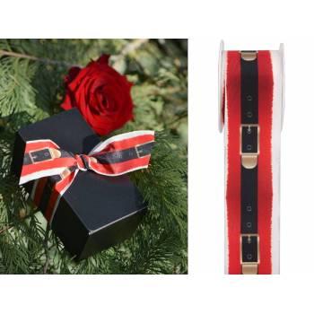 Gürtelband Weihnachtsmann 40mm