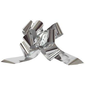 5 Automatische Knoten Metallic Silber 31mm