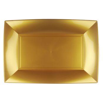 3 Goldgerichte 34cm