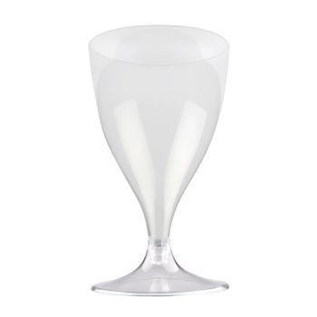 10 Weingläser/Wasser transparent