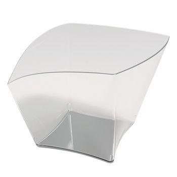25 glas transparent curve
