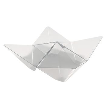 25 transparente Origami-Glaser