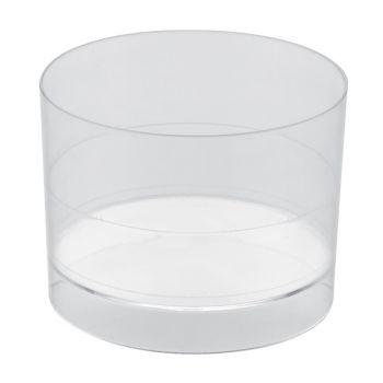 15 transparente Runde Glaser