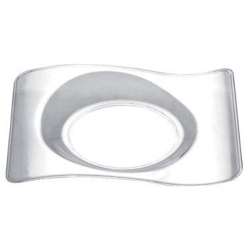 50 Mini-Design-Teller transparent