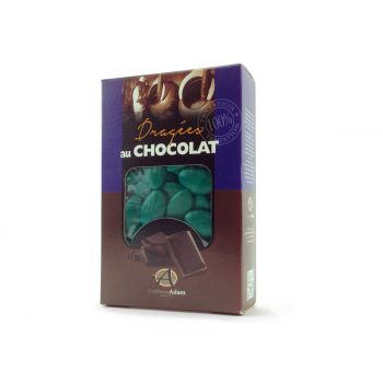 Dragees schokolade glänzende grünes Reich 500gr