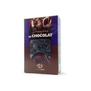 Dragees schokolade glänzend schwarz 500gr