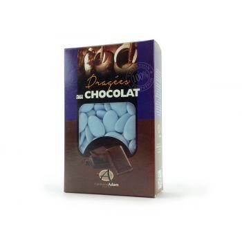 Dragees schokolade glänzend Lavendel 500gr