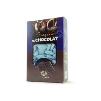 Dragees schokolade pastell matt blau 500gr