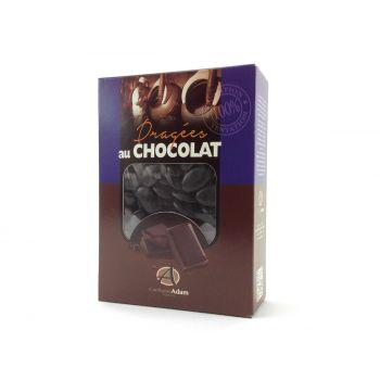 Dragees schokolade glänzend schwarz 1kg