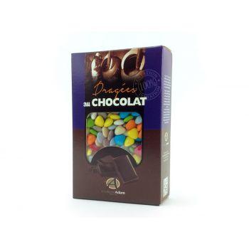 Dragees mini Herz Schokolade glänzend 500gr
