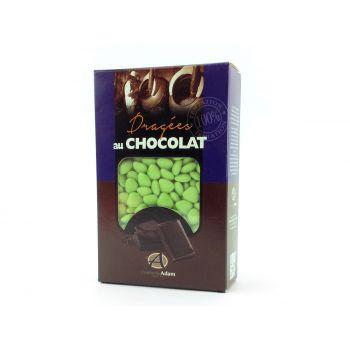 Dragees mini Herz Schokolade glänzend Linde 500gr
