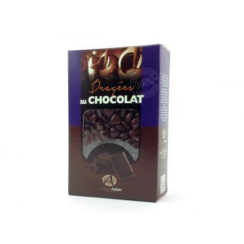 Dragees mini Herz Schokolade glänzend Schokolade 500gr