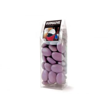 Dragees Marshmallow lila tubos 150gr