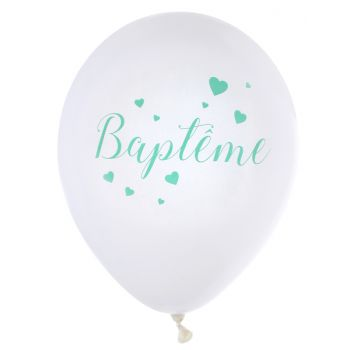 10 Ballons Wäptème mint