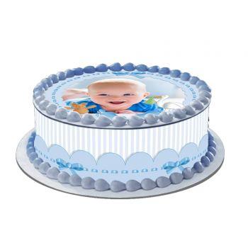 Easycake Baby Blue Kit zu personalisieren
