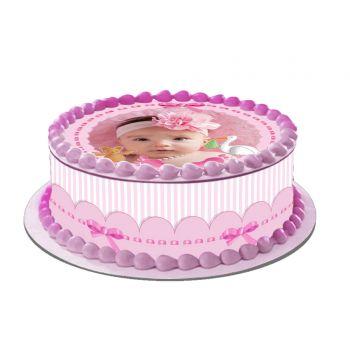 Easycake Baby Rosa Kit zu personalisieren