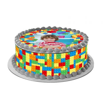 Easycake Block Party Kit zu personalisieren