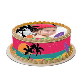 Hawaii Easycake Kit zu personalisieren