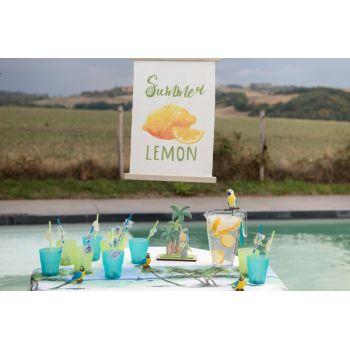 Zitronen-Wimper-Schild
