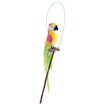 Papagei auf rosenfarbenen Papagei