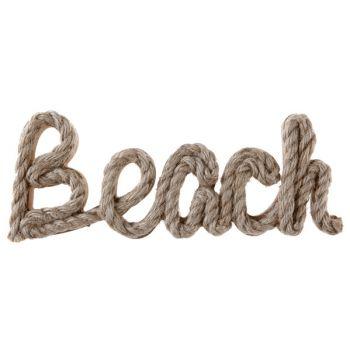 Dekor Buchstaben Beach mit Seil