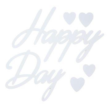 Happy Day Aufkleber
