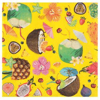 20 Handtücher Tutti frutti