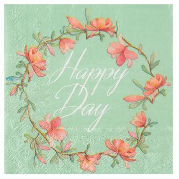 20 Happy Day Servietten