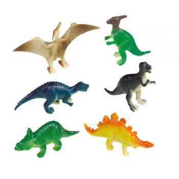 8 Figuren Dinosaurier Party