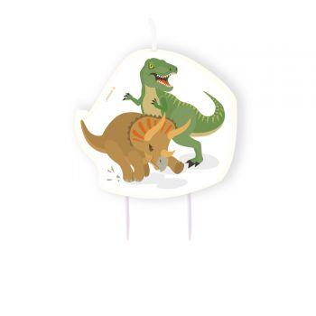 Kerze Dinosaurier Party für Kuchen
