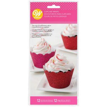 24 Wraps mit Cupcakes Wilton