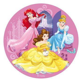 Tortenaufleger dekor Prinzessin 20 cm
