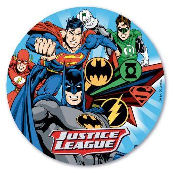 Tortenaufleger dekor Justice League 20 cm